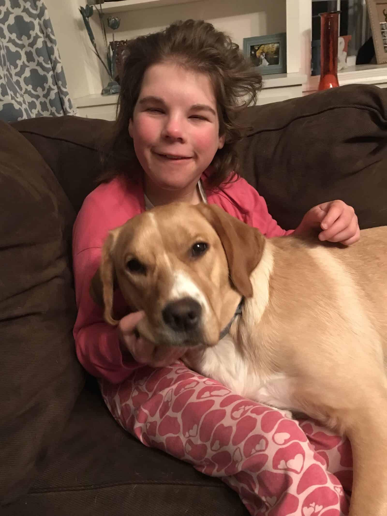 Maddie and Dog
